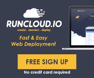 RunCloud Advertisement
